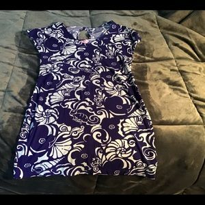 Lilly Pulitzer - Purple short dress